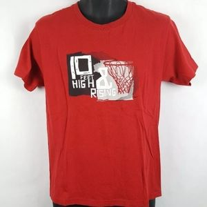 Vintage Nike 10 Feet High and Rising T Shirt